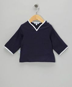 $18. Take a look at this Navy Kaftan Top - Infant, Toddler & Girls by Gypsy Kids on #zulily today!