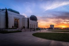 This is a shot of the Observatory there was a nice sunset and so I captured it with my Sony A7r. This is a very cool place to hang out and you have an amazing view of LA if you are visiting I really advise you to go there!  #photoserge #sky #sunset #observatory #LA #view #tourist