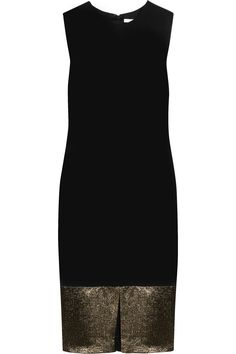 Blee paneled stretch-jersey dress by Diane von Furstenberg