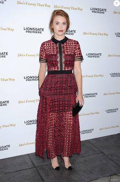 Holland Roden lors de l'avant-première du film Broadway Therapy (She's Funny That Way) à Los Angeles le 19 août 2015