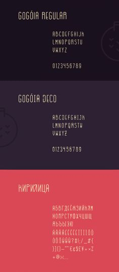 Gogoia font - FREE for both personal and commercial work.
