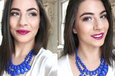 Fall Makeup Look | Fuchsia Lips from www.ultimakeover.com