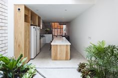 Vietnamese Town House - Picture gallery #architecture #interiordesign #kitchen