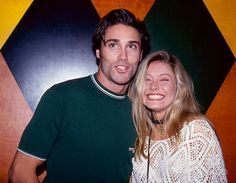 Kelly Ripa and her boyfriend (at the time) Vincent Young attending a performance at Carolines On Broadway comedy club.