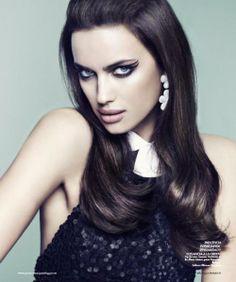 Irina Shayk | Editorial | Beauty | Makeup | Style | Glamour |