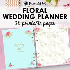Wedding Planner Printable Wedding Planner Book Binder
