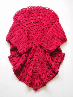 VMSomⒶ Koppa: Rød blomst cirkel T-shirt og tuubikauluri