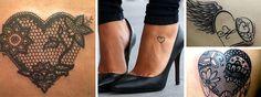 idées de tatouage femme coeur