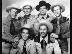 Sons of The Pioneers - Chant of The Wanderer -1941  Don't let the photo deceive you, it's the wrong lineup picture. :D That's Bob Nolan singing the solos, Lloyd Perryman does the yodels........