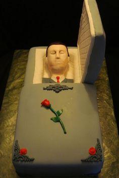 Jim's Funeral Cake ~.~