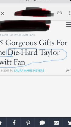 I'm sorry, but we are called SWIFTIES!!!
