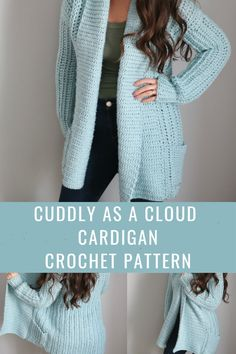 Cute Crochet, Crochet Crafts, Easy Crochet, Crochet Tops, Knitting Patterns, Crochet Patterns, Crochet Cardigan Pattern Free Women, Poncho Patterns, Crochet Shrug Pattern
