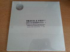 Travis & Fripp Live at Bishop s Cleeve May22nd  Sealed Vinyl LP (King Crimson)