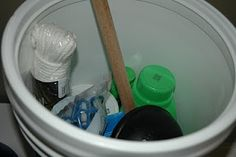 Prepared NOT Scared!: Preparedness Project - Utah Temples Memory Game and A Bucket Washer!