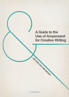 I love Ampersands, and I need this book.