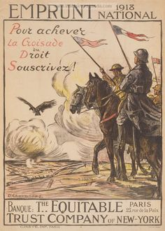Examples of Propaganda from WW1 | WW1 War Bond Posters Page 11