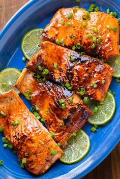 Sauteed Honey-Glazed Salmon is juicy, flaky, easy and so satisfying! Squeeze fresh lime juice over this pan fried honey glazed salmon and serve white rice.