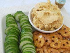 Sweet Potato Hummus Recipe - from The Fast Metabolism Diet #FastMetabolismDiet, #MetabolicDiet,