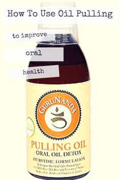 HOW TO USE OIL PULLING TO IMPROVE ORAL HEALTH: great tips and takeaways here if you are interested in getting started. #oilpulling #oralhealthcare from gogrowgo.com @gogrowgo