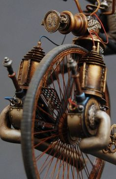 Steampunk bike.