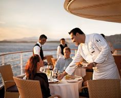 A Silversea all-inclusive luxury cruise means unparalleled service and superlartive comfort.