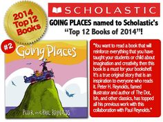 Tnx @ScholasticTeach - w your support, GOING PLACES' #4Cs message is making its way into even more homes & schools!