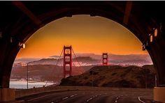 Robin Williams Tunnel (Rainbow Tunnel) by wanderlust.sanfrancisco #sanfrancisco #sf #bayarea #alwayssf #goldengatebridge #goldengate #alcatraz #california