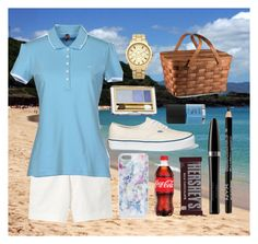"""""""One Last Day"""" by eemsles ❤ liked on Polyvore featuring Uniqlo, SUN68, Warehouse, Vans, Hershey's, Mary Kay, Estée Lauder, NARS Cosmetics and Lipsy"""