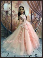 "PKPP-796  Tonner Ellowyne Princess Evening Lace Gown dress outfit dolls 16"""