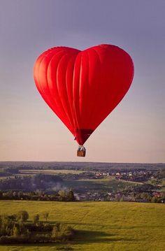 El globo de los enamorados