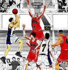 Slam Dunk Manga, Inoue Takehiko, Comic Drawing, 90s Cartoons, Dragon Ball, Basketball, Comic Books, Geek, Play