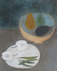 Pears, Apple and Beans by Vivienne Williams