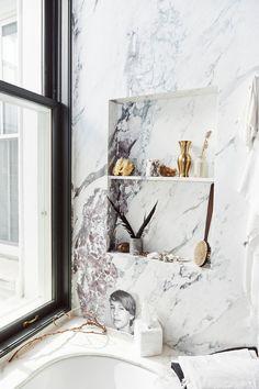 Bathroom Inspiration, Design Inspiration, Jenna Lyons, Bathroom Styling, Little Houses, First Home, Home Staging, Decoration, Bath