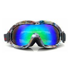 4c188f7ddb Kids Ski/Snow Snowboarding Mirrored Anti-Fog Goggles TPU Camo Stone Frame  Colorful Lens Age (3yr-8yr)