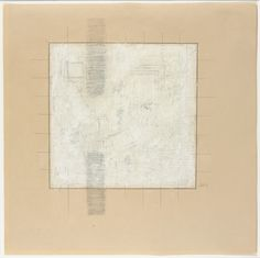 Untitled Robert Ryman (American, born Pencil and gouache on paper, 18 x x cm). Gift of Sally and Wynn Kramarsky Abstract Drawings, Abstract Art, Abstract Paintings, Action Painting, Painting & Drawing, Robert Ryman, Shabby Chic, Frank Stella, Land Art