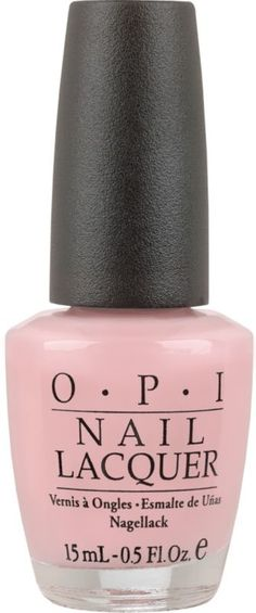 Adds the perfect touch of subtle to all looks. Soft Shades Nail Lacquer Collection by OPI whisper romance, sophistication, and style. This range of delicately feminine pinks, creams, violets, roses, nudes, and whites is the ideal choice for beautiful brides and prom princesses..