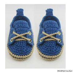 Crochet Baby Booties Blue Baby Shoes Crochet baby by BUBUCrochet
