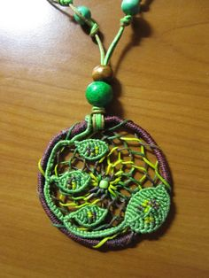dreamcatcher with leafs by Ursulaa
