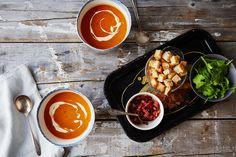 Creamy Soups for the Holidays