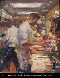 Quang Ho ~ 'Smoky Kitchen Arrangement'