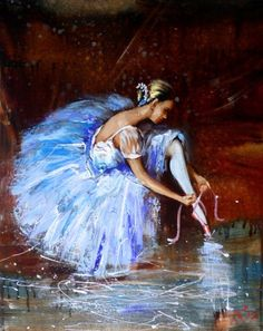 Buy BALLERINA, ORIGINAL OIL PAINTING, 40X50 CM, PALLET KNIFE ART, READY TO HANG!, Oil painting by Anastasiya Kachina on Artfinder. Discover thousands of other original paintings, prints, sculptures and photography from independent artists.