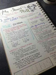 """pensandmachine: """"Lecture summaries – Fifth week (in progress) Philosophy of Ma… - SCHOOL NOTES Cute Notes, Pretty Notes, Good Notes, Beautiful Notes, School Organization Notes, Study Organization, College Notes, Bullet Journal Notes, Class Notes"""