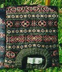 Typical traditional Fair Isle pattern ~ this style of knitting originated from the island of the same name ~ Fair Isle is located at the bottom of the Shetland Islands.