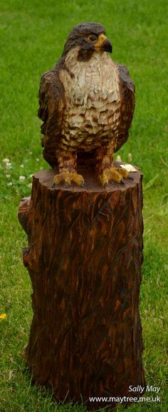 Best chainsaw bird carvings images in tree