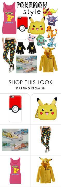 """Gotta catch'em all!"" by ingridmv ❤ liked on Polyvore featuring Casetify, Nintendo, Converse, Pokemon, pikachu and pokemonstyle"