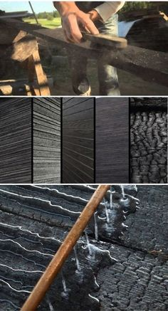 From Glass to Metal: J Liston Design - Design Milk Diy Art Projects, Wood Projects, Diy Wall Art, Wood Wall Art, Wood Walls, Charred Wood, Deco Nature, Into The Woods, Wood Surface