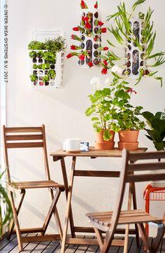 Pas besoin d'avoir un jardin énorme pour qu'il soit impressionnant ! Optez pour des objets inattendus tels qu'une poubelle et faites-en une jardinière créative. Découvrez nos idées. VARIERA Poubelle, 2,99/pce. #IKEABE #idéeIKEA You don't need a huge backyard to make an impressive garden! Use something unexpected, such as a trash can, and go for a creative planter. Discover our ideas. VARIERA Planter, 2,99/pce. #IKEABE #IKEAidea