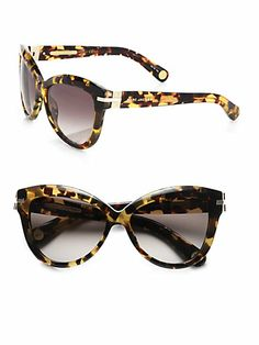 Marc Jacobs Plastic Cat's-Eye Sunglasses