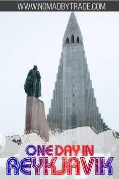 This itinerary for one day in Reykjavik, Iceland gives you a taste of all the highlights. It's perfect if you're planning a layover in Reykjavik or using the city as a base visiting Iceland. #Iceland #Reykjavik #Travel