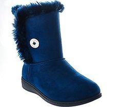 Vionic Orthotic Slipper Boots - Fairfax